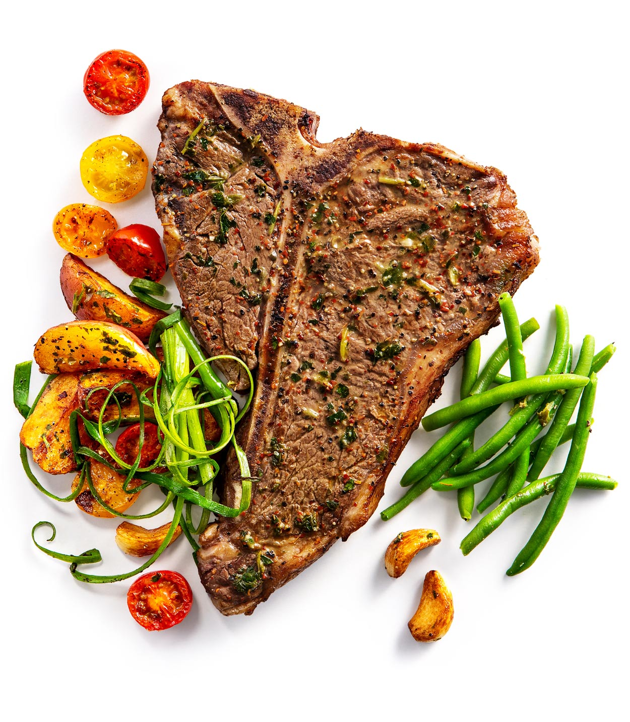 Grilled T-bone steak for Festival Foods
